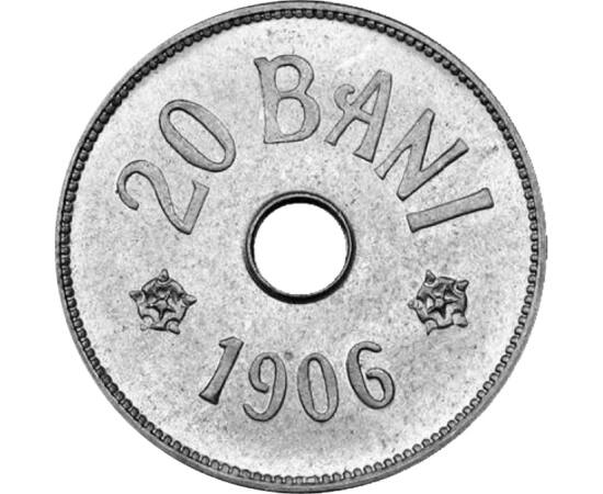 20 bani, Carol I, 1905-1906 România