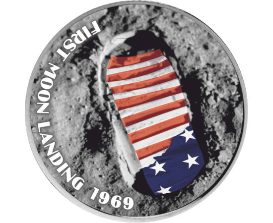 25 cenţi,Primul pas pe Lună,2004 SUA