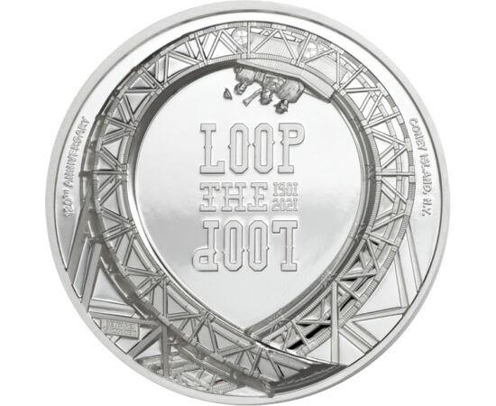 5 dolari, Loop the Loop, Ag,2021 Insulele Cook
