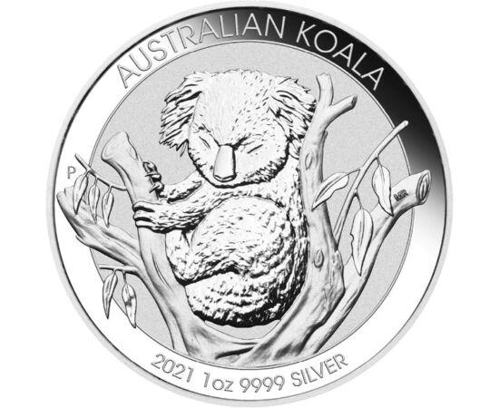 Somnorosul Koala, 1 dolar, argint, Australia, 2021