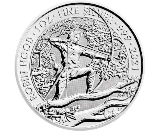 Prinţul hoţilor, 2 lire, argint, Marea Britanie, 2021