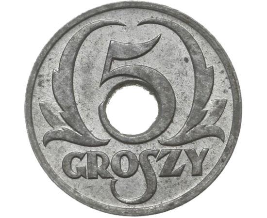 Arderea lumii , 5 groşi, Polonia, 1939