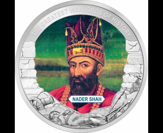 """// 1 dolar, Palau, 2016 // - A fost unul dintre cei mai mari conducători din istoria iraniană, domnind ca Şah al Iranului. A fost un făuritor de imperiu, datorită cuceririlor sale a meritat din plin porecla de """"Napoleon al Persiei""""."""
