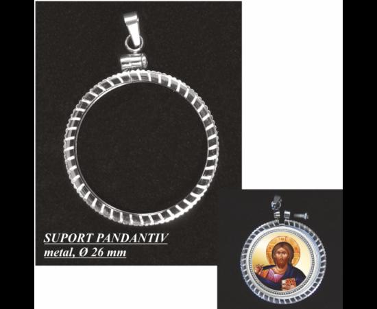 """// suport pandantiv, Suport pandantiv pentru medalii, metal, ,  // Suportul pandantiv poate fi utilizat la medaliile colecţiei """"Icoane şi Sfinţi""""!"""