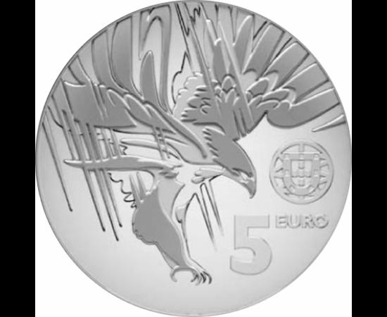 Acvila de câmp – Simbol naţional 5 euro, Acvila de câmp, 2018 Portugalia