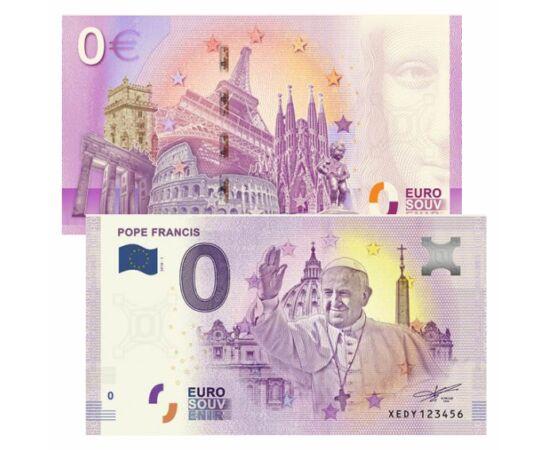 Papa Francisc, 0 euro, 2018