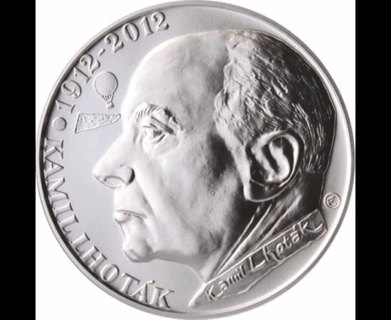 // 200 coroane, Alfons Mucha, argint de 900/1000, Cehia, 2010 // Anul acesta ar fi împlint 160 de ani marele maestru al secesionismului, Alfons Mucha. Picturile artistului ceh au putut fi admirate şi la noi, în Muzeul Naţional Cotroceni. Amintirea sa este
