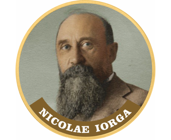 Nicolae Iorga, cel mai mare istoric român, pe monedă unică