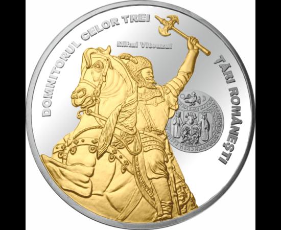 // Mihai Viteazul, medalie, România,  // - A fost unul dintre cele mai marcante personalităţi istorice româneşti. Domnitor al Ţării Româneşti şi pentru o scurtă perioadă în 1600 domnitorul tuturor ţărilor care urmau să formeze România. A reuşit ceea ce ni