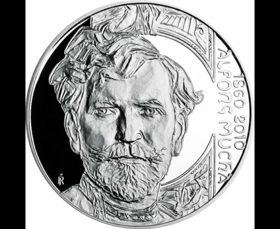 200 coroan, A. Mucha, Ag, 2010 pp Republica Cehă