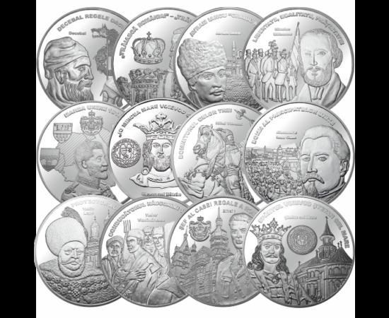 Medalii comemorative la aniversarea a 200 de ani de la naşterea lui Alexandru Ioan Cuza