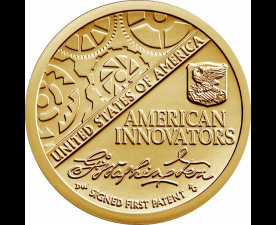 """// 1 dolar, SUA, 2018 // - După seria numismatică de succes cu preşedinţi SUA, urmează """"Inventatori americani"""", pe monede de 1 dolar. În această serie, se vor lansa până în 2032, anual, 4 monede, omagiind inventatorii fiecărui stat sau district special al"""