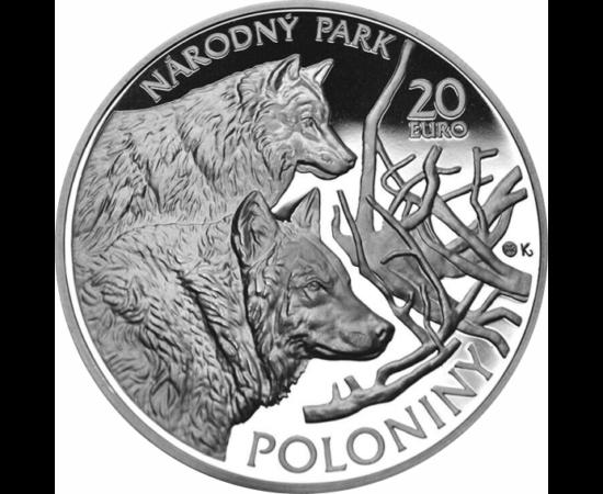 // 20 euro, argint de 925/1000, Slovacia, 2010 // - Una dintre ultimele păduri de fag din Europa, care a acoperit vreodată partea de nord a continentului este situat la graniţa Slovacia-Polonia-Ucraina. Parcurile naţionale formează o rezervaţie a biosfere