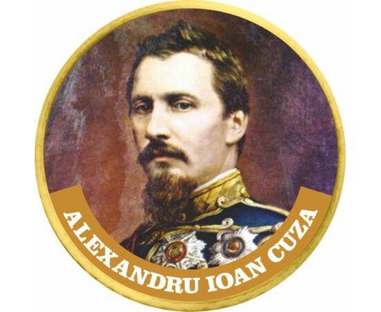 Alexandru Ioan Cuza 50 cenţi, CuNi, UE, 2002-2019