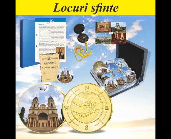 """""""LOCURI SFINTE"""" colecţie de medalii (Locuri de pelerinaj I)"""