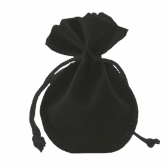 Săculeţ de catifea, Negru