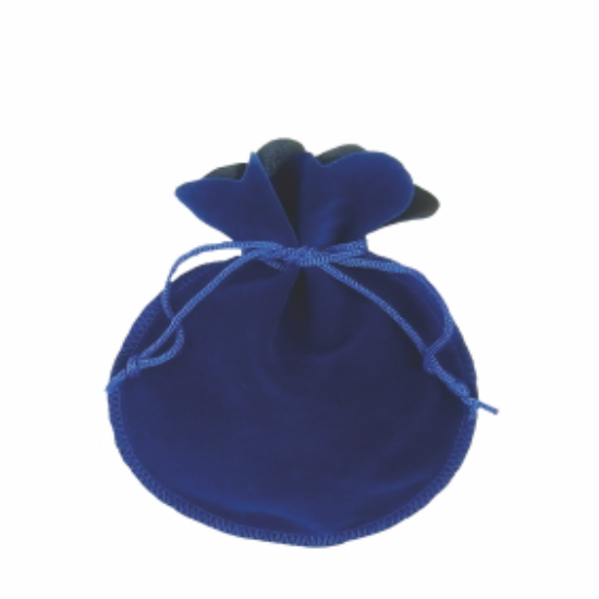 Săculeţ de catifea, Albastru