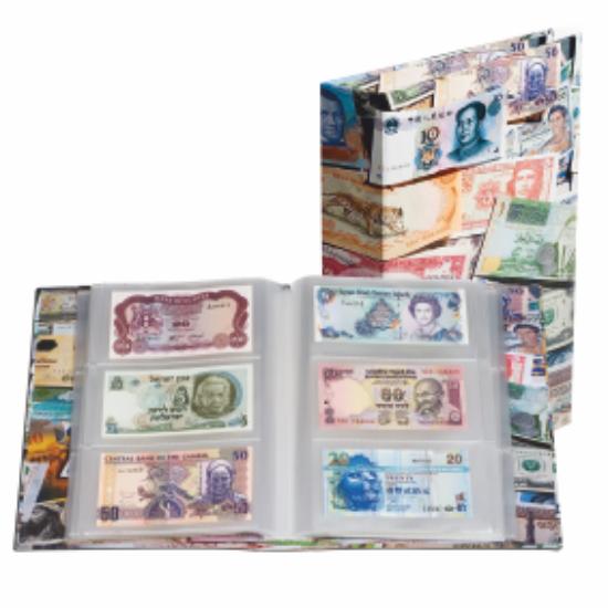 Album VARIO color, pentru bancnote