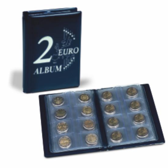 Album de buzunar – monede de 2 euro