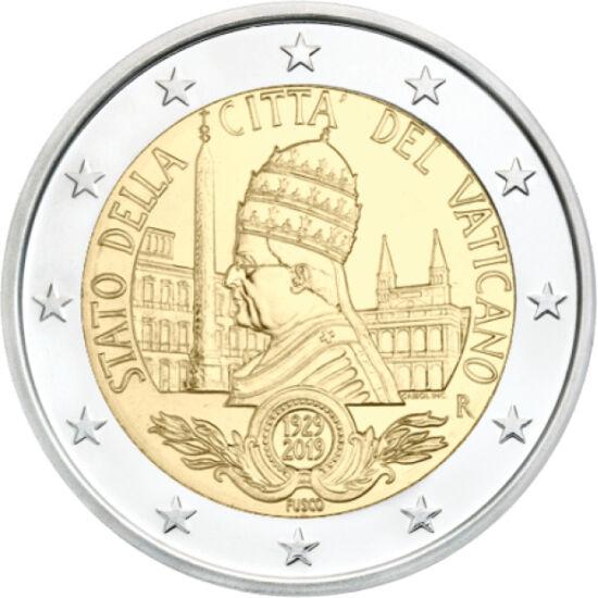 // 2 euro, Vatican, 2019 // - Ca expert în numismatică, îmi face o deosebită plăcere să vă prezint rarităţi sau curiozităţi numismatice. Monedele emise de Vatican erau întotdeauna căutate de colecţionari, deoarece sunt emise în număr limitat de bucăţi. Va