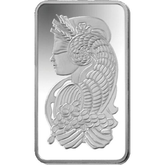 // lingou de argint, argint de 999/1000, Elveţia, ND // - Lingoul de argint elveţian foarte popular în rândul investitorilor o prezintă pe Fortuna, zeiţa norocului, cu cornul abundenţei, simbolul bogăţiei constante.