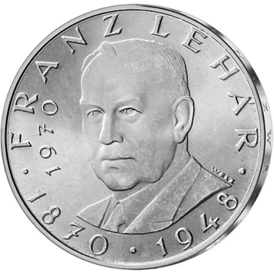 // 19x25 şilingi, argint de 800/1000, Austria, 1955-1973 // - Între 1955 şi 1973, Austria a emis în fiecare an o monedă jubiliară de argint, cu valoarea nominală de 25 şilingi. După anul 1973, datorită creşterii preţului argintului, acesta a depăşit valoa