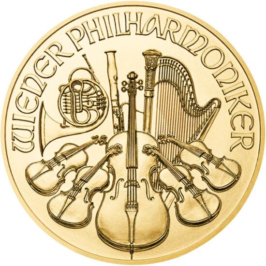 // 4 euro, aur de 999,9/1000, Austria, 2019 // - Produsul de succes al monetăriei Austriei, de 825 de ani, sunt monedele Filarmonicii din Viena. Pe avers apar instrumentele, iar pe revers orga din Sala de Aur a Asociaţiei Muzicale din Viena. Acum vă oferi