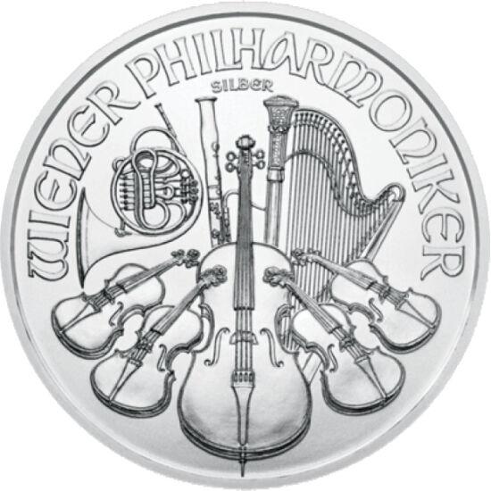 // 1,5 euro, argint de 999/1000, Austria, 2019 // - Printre cele mai cunoscute monede de investiţie din lume este moneda austriacă Filarmonicii din Viena. Mai demult au fost bătute doar monede de argint, dar din anul 2008 monetăria austriacă emite şi mone