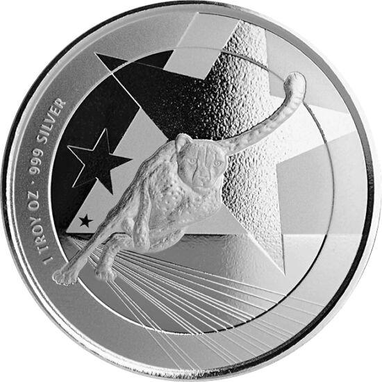 // 500 franci, argint de 999/1000, Camerun, 2019 // - Camerun şi-a lansat cea mai nouă monedă de investiţie, decorată cu cel mai rapid animal de pe uscat, ghepardul, care îşi goneşte prada cu o viteză de 100 km/h. Moneda din argint pur a fost lansată în a
