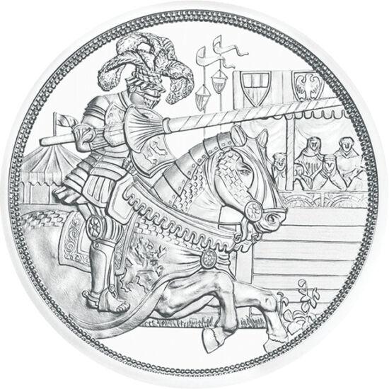 """// 10 euro, argint de 925/1000, Austria, 2019 // - Monetăria Austriei îşi sărbătoreşte cei 825 de ani cu seria de 5 monede """"Poveşti cavalereşti"""". Prima piesă îl prezintă pe Maximilian I al Sfântului Imperiu Roman, împărat al renaşterii. Pe avers apare por"""