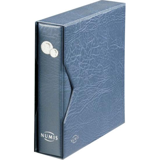 Album pentru monede, decorat estetic, şi casetă de protecţie. Conţine 5 diferite folii, 5 cartoane despărţitoare. În acest album se mai pot adăuga folii suplimentare NUMIS.