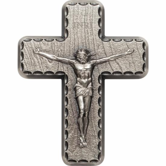Ofertă exclusivă – Cruce din argint (2 uncii, argint de 999/1000