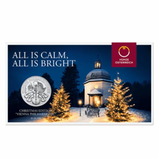 Ediţie de Crăciun – Filarmonicii din Viena, argint pur